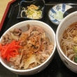 牛丼&温蕎麦セット