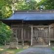 福島県喜多方市、慶徳稲荷神社の杉2本です!!