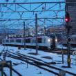 2018年1月24日,今朝の中央線 成田エクスプレス7号 E259系