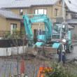 雨上がりの新舗装