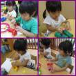 ☆・。すみれぐみ(2歳児)双眼鏡遊び。・☆