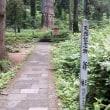 出羽三山:国宝・羽黒山五重塔見学(県退教協第41回総会)