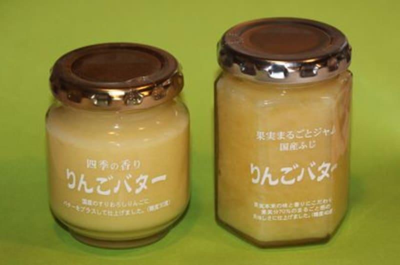 長野県のスーパーつるやのオリジナルジャム「りんごバター」が大好きです
