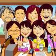 毎日聞いている NHK すっぴん&ごごラジのパーソナリテイのつもりです。