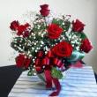 花束が届いた!