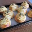 焼き芋ロールパン