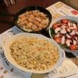 豚ロース味噌漬け焼き&蛸サラダ&チャーハン