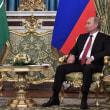 サウジ国王、ロシア訪問