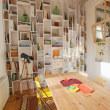 フラワーリースと壁を飾るアイテム リターン