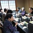 いっぷく亭のお習字教室の食事会