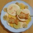 金魚の水遊び(お菓子)