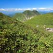 夏のくじゅう連山からp24(D810、18-35mm)天狗ケ城へ