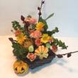 10月、マンスリー、ハロウィンのアレンジ。