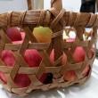 リンゴかご