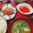 鮭の幽庵焼き・トマトおひたし・胡麻よごし