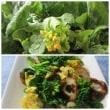 ほろ苦い「菜の花」の簡単料理。