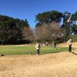 寒い中のゴルフでした