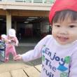 しろ・すみれ 1歳児 壁面製作・戸外遊び