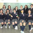 卒業生ありがとう!