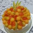 ★メロンとハートのケーキ☆