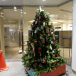 クリスマスツリーが登場@シャポー本八幡