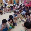今日は、児童クラブの子50名と自然遊びをしました。
