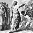 「悪(霊)と戦うキリスト」 マルコによる福音書3章20~30節