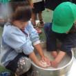 みどり・すみれ 4歳児 メロン☆飯盒炊爨