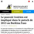 ブルキナファソ・クーデター未遂にコートジボワール国家が関与?(1)〜事件の経緯