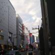 月曜新橋→新宿