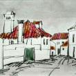 1352.アルペドリーニャの町角