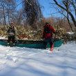 冬の美々川