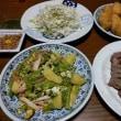 6月22日(金)豌豆と馬鈴薯の卵綴じ