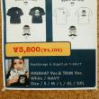 Moat Garage × ヒゲ倶楽部 Tシャツ リリース。