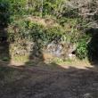 女鈴山と男鈴山の登山道の分岐点が見えてきました。(Photo No.14159)