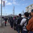 17.笠寺駅のゴールは長い行列