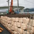 静岡市清水区 家を建つために4mの擁壁を施工中です!!