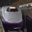 冬晴れの新幹線