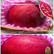 相方がスーパーで買った♪マンゴー(*´艸`)