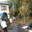 今日は「町内会」の掃除の日~~