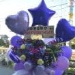 川越市のクラブにお届けのミリオンズのスタンド花