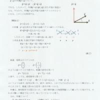 平面の法線ベクトルとベクトルの外積について