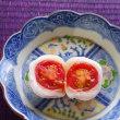 真っ赤なトマトがお餅の中から・・トマト大福・(^ω^)・・・
