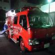 8月21日 本日は国立市消防団第一分団消防操法訓練で久しぶりに指揮者を務めました