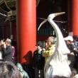 浅草寺「白鷺の舞」を見ました