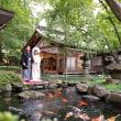 -早秋の藏舞台*緑美しい日本庭園-
