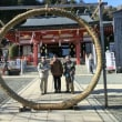 R隊 平日ハイク 2018-01 大山登山と阿夫利神社参拝