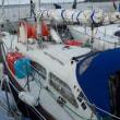 回航予定のヨット整備