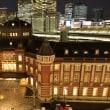 東京駅夜景~東京中央郵便局(キッテ)屋上