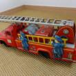 アサヒトーイの日産ジュニアトラックのボンネットはしご車(消防車) B140型